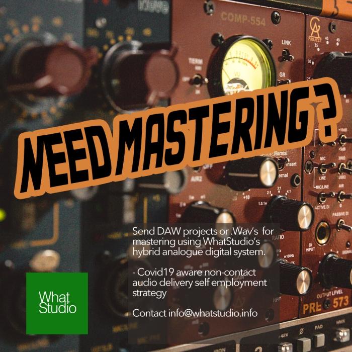 Need Mastering